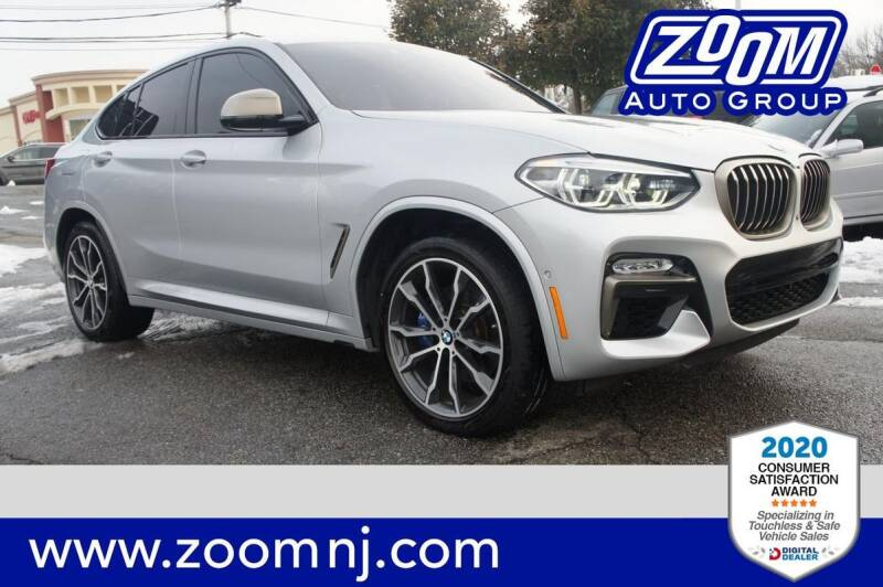 2019 BMW X4 for sale at Zoom Auto Group in Parsippany NJ