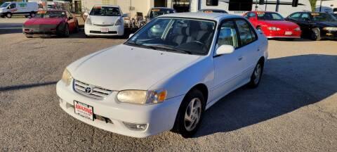 2001 Toyota Corolla for sale at AMAZING AUTO SALES in Marengo IL