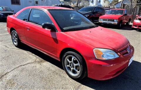 2002 Honda Civic for sale at Exem United in Plainfield NJ