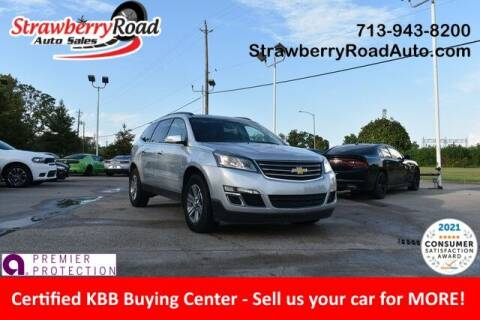 2017 Chevrolet Traverse for sale at Strawberry Road Auto Sales in Pasadena TX