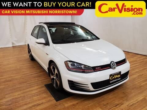 2017 Volkswagen Golf GTI for sale at Car Vision Mitsubishi Norristown in Trooper PA