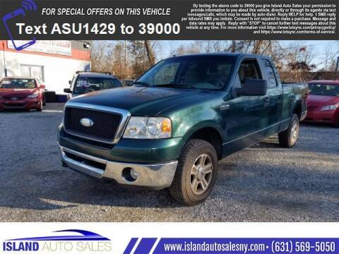 2007 Ford F-150 for sale at Island Auto Sales in E.Patchogue NY