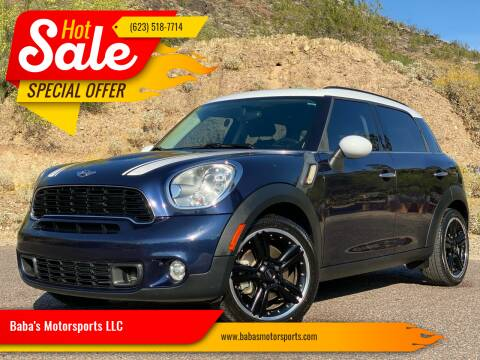2013 MINI Countryman for sale at Baba's Motorsports, LLC in Phoenix AZ