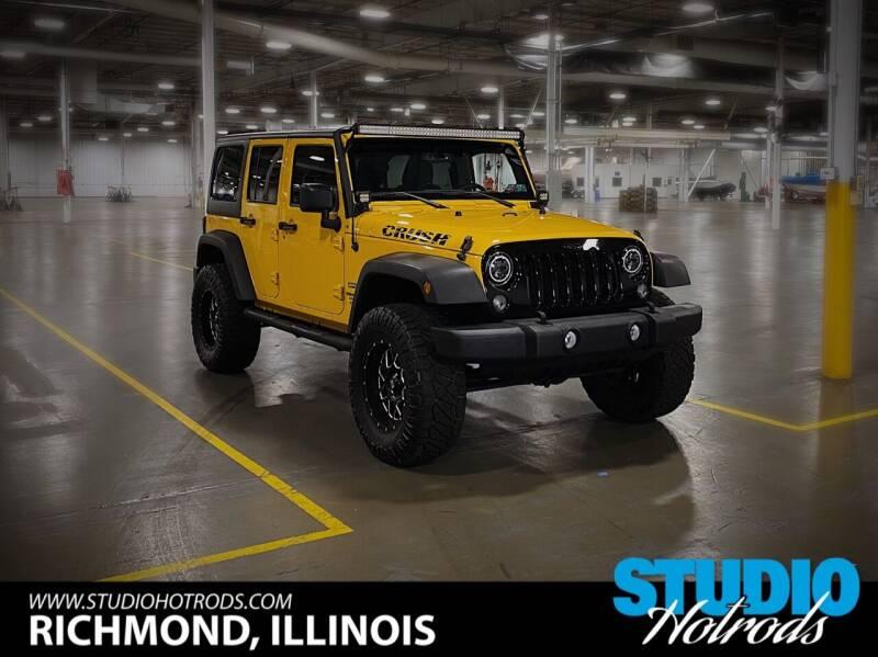 2015 Jeep Wrangler Unlimited for sale at Studio Hotrods in Richmond IL