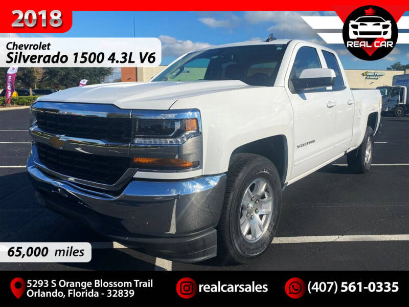 2018 Chevrolet Silverado 1500 for sale at Real Car Sales in Orlando FL