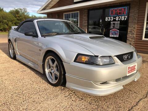 2001 Ford Mustang for sale at Premier Auto & Truck in Chippewa Falls WI