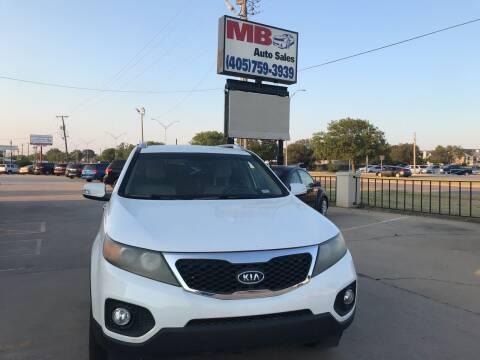 2011 Kia Sorento for sale at MB Auto Sales in Oklahoma City OK