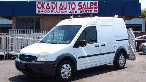 2012 Ford Transit Connect for sale at Okaidi Auto Sales in Sacramento CA
