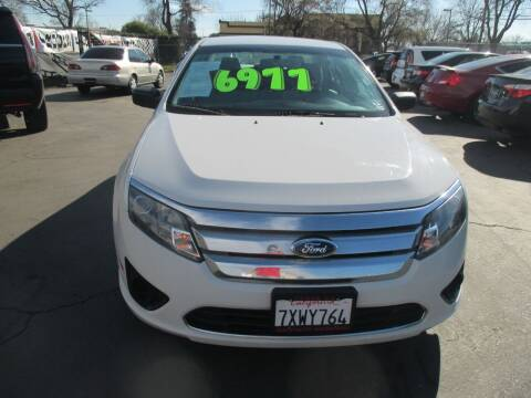 2012 Ford Fusion for sale at Quick Auto Sales in Modesto CA