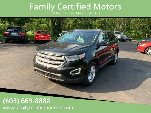 2015 Ford Edge for sale at Family Certified Motors in Manchester NH