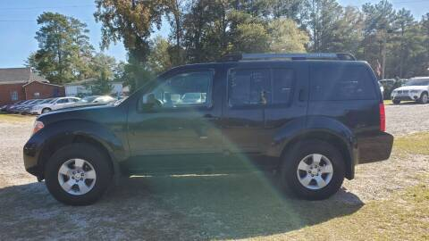 2005 Nissan Pathfinder for sale at Joye & Company INC, in Augusta GA