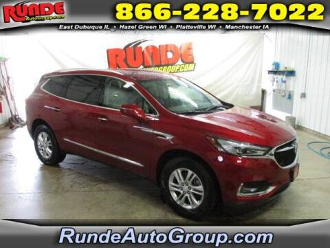 2018 Buick Enclave for sale at Runde PreDriven in Hazel Green WI