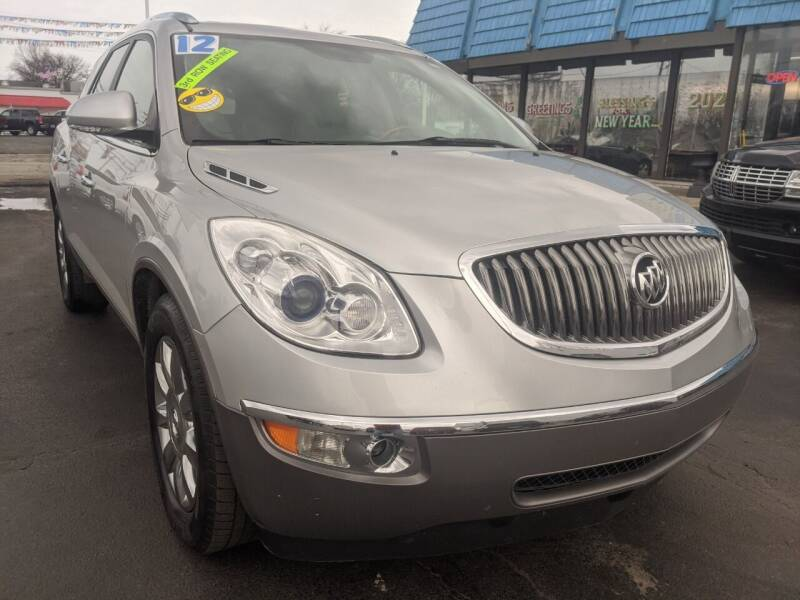 2012 Buick Enclave for sale at GREAT DEALS ON WHEELS in Michigan City IN