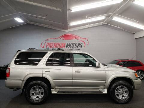 2000 Toyota 4Runner for sale at Premium Motors in Villa Park IL