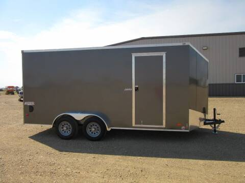 2021 Bravo 7' x 16' for sale at Nore's Auto & Trailer Sales - Enclosed Trailers in Kenmare ND