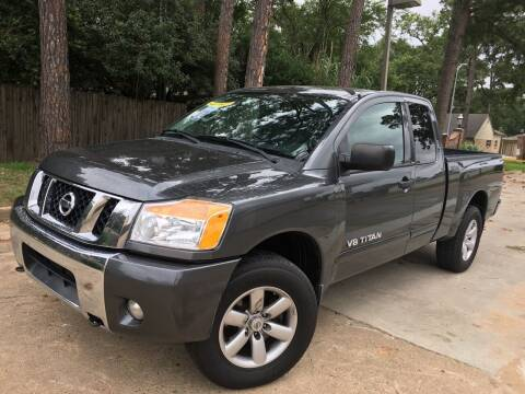 2012 Nissan Titan for sale at Laguna Niguel in Rosenberg TX