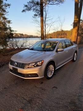 2017 Volkswagen Passat for sale at Calvary Cars & Service Inc. in Norfolk VA