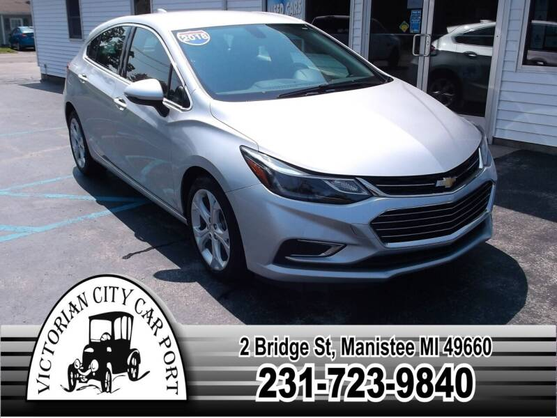 2018 Chevrolet Cruze for sale at Victorian City Car Port INC in Manistee MI