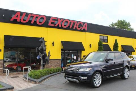 2015 Land Rover Range Rover Sport for sale at Auto Exotica in Red Bank NJ