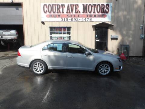2010 Ford Fusion for sale at Court Avenue Motors in Adel IA
