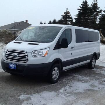 2018 Ford Transit Passenger for sale at Garys Sales & SVC in Caribou ME