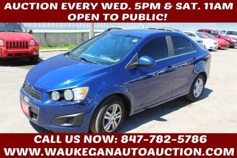 2012 Chevrolet Sonic for sale at Waukegan Auto Auction in Waukegan IL