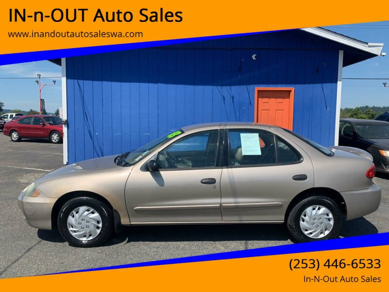 2003 Chevrolet Cavalier for sale in Puyallup, WA