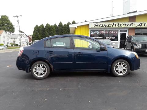 2008 Nissan Sentra for sale at Sarchione INC in Alliance OH