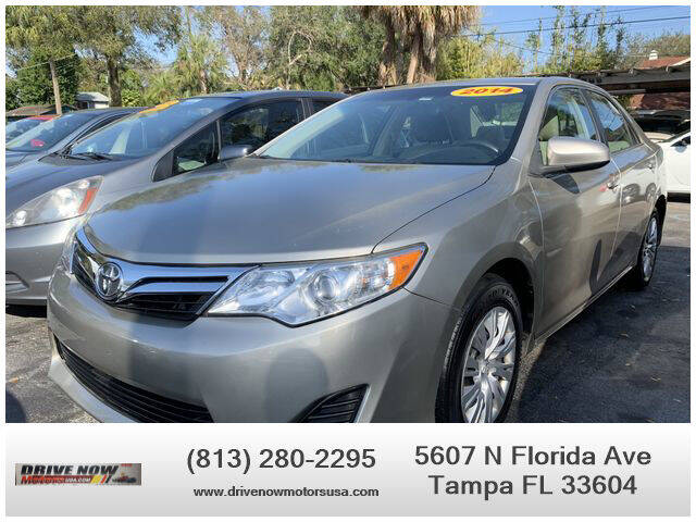 2014 Toyota Camry for sale at Drive Now Motors USA in Tampa FL