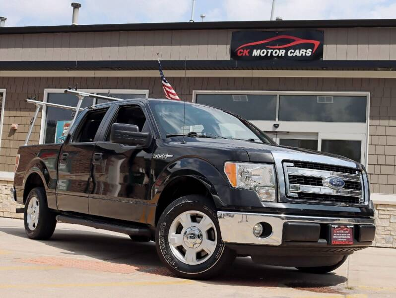 2013 Ford F-150 for sale at CK MOTOR CARS in Elgin IL