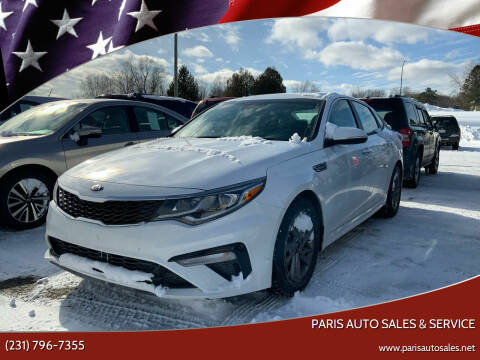 2020 Kia Optima for sale at Paris Auto Sales & Service in Big Rapids MI