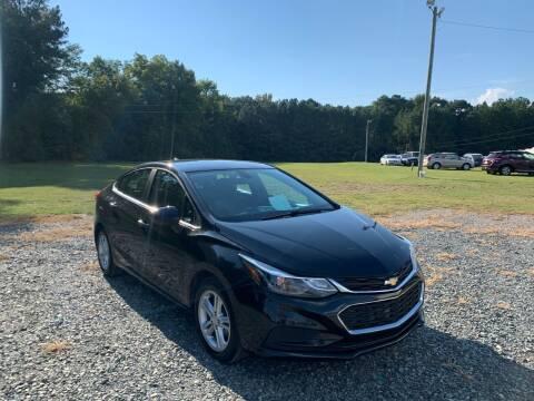 2016 Chevrolet Cruze for sale at Sanford Autopark in Sanford NC