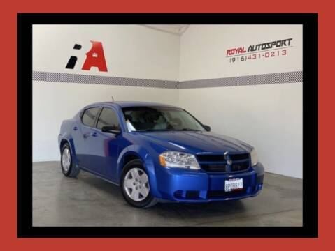 2008 Dodge Avenger for sale at Royal AutoSport in Sacramento CA