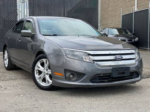 2012 Ford Fusion for sale at Illinois Auto Sales in Paterson NJ