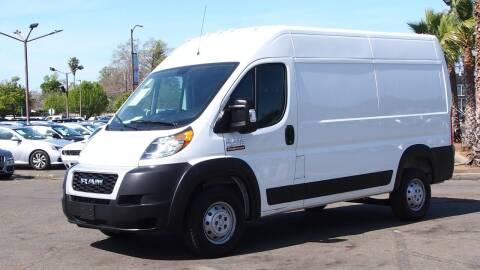 2020 RAM ProMaster Cargo for sale at Okaidi Auto Sales in Sacramento CA