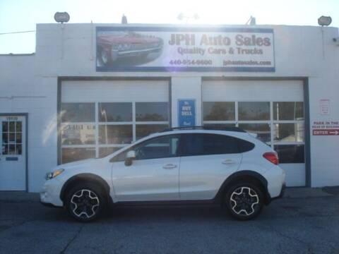 2013 Subaru XV Crosstrek for sale at JPH Auto Sales in Eastlake OH