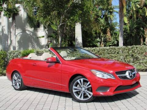 2016 Mercedes-Benz E-Class for sale at Auto Quest USA INC in Fort Myers Beach FL