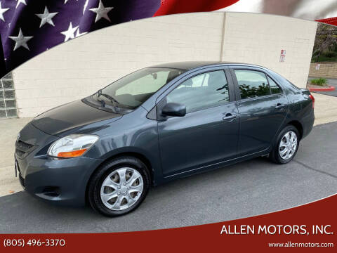 2007 Toyota Yaris for sale at Allen Motors, Inc. in Thousand Oaks CA