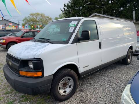2004 Chevrolet Express Cargo for sale at Trocci's Auto Sales in West Pittsburg PA