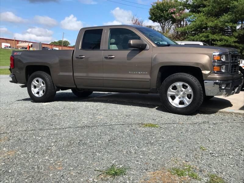 2015 Chevrolet Silverado 1500 for sale at Clayton Auto Sales in Winston-Salem NC