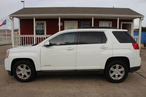 2014 GMC Terrain for sale at AMT AUTO SALES LLC in Houston TX