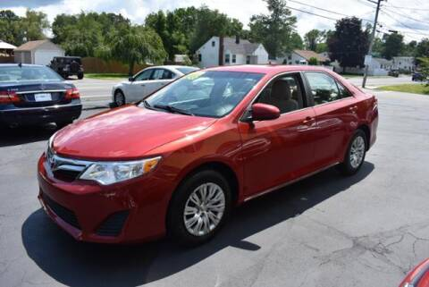 2013 Toyota Camry for sale at Absolute Auto Sales, Inc in Brockton MA