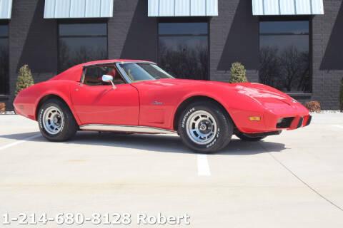 1975 Chevrolet Corvette for sale at Mr. Old Car in Dallas TX