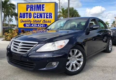 2009 Hyundai Genesis for sale at PRIME AUTO CENTER in Palm Springs FL