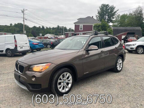 2013 BMW X1 for sale at J & E AUTOMALL in Pelham NH