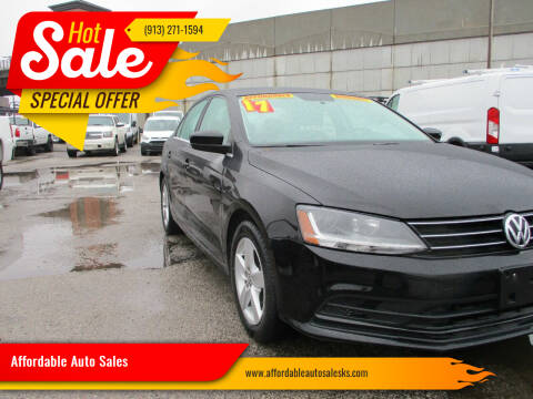 2017 Volkswagen Jetta for sale at Affordable Auto Sales in Olathe KS