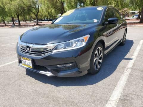 2016 Honda Accord for sale at ALL CREDIT AUTO SALES in San Jose CA