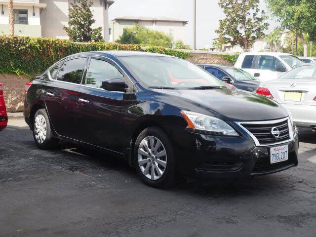 2015 Nissan Sentra for sale at Corona Auto Wholesale in Corona CA