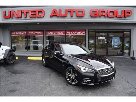 2017 Infiniti Q50 for sale at United Auto Group in Putnam CT