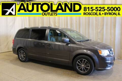 2017 Dodge Grand Caravan for sale at AutoLand Outlets Inc in Roscoe IL